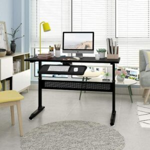 Standing Desk with Adjustable Height for Home Office