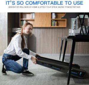 Egofit Walker Pro Smallest Under Desk Treadmill