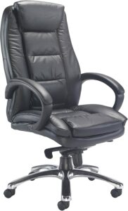 Office Hippo Executive Leather Faced Chair