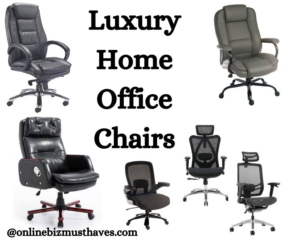 Luxury Home Office Chairs