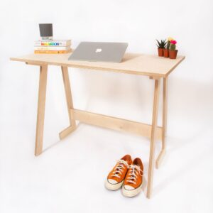 Deskmate folding desk. Working from a Home Office