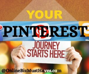 Your pinterest journey starts here
