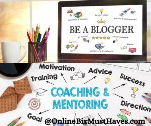 blogger, coach mentoring