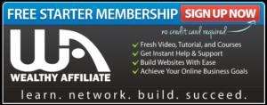 wealthy affiliate free membership